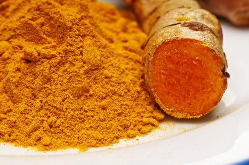 turmeric, root and powder